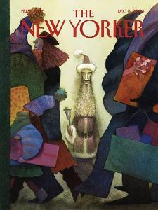 The New Yorker Cover - December 6, 2004 by Carter Goodrich
