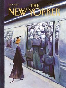 The New Yorker Cover - May 16, 2005 by Carter Goodrich