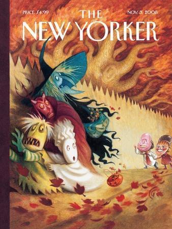 The New Yorker Cover - November 3, 2008