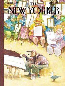 The New Yorker Cover - September 1, 2003 by Carter Goodrich