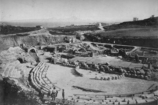 'Carthage. The Amphitheatre', c1913-Charles JS Makin-Photographic Print