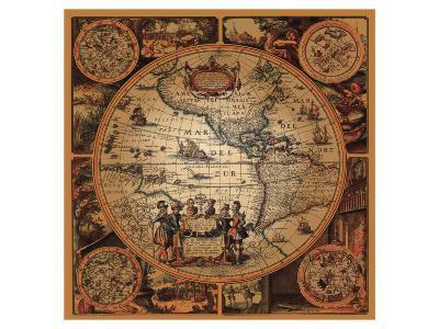 Cartographica II--Premium Giclee Print