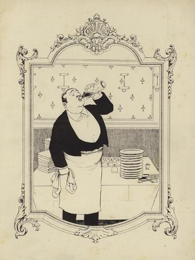 Cartoon from Memoires D'Une Glace-Albert Guillaume-Giclee Print
