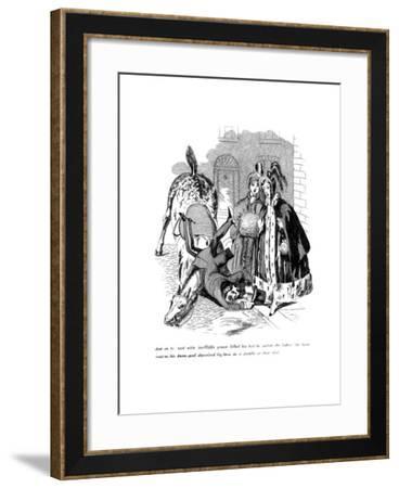 Cartoon on a Riding Theme, 19th Century--Framed Giclee Print