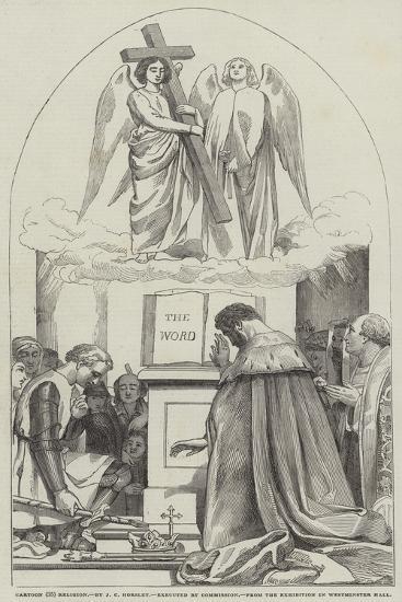 Cartoon, Religion-John Callcott Horsley-Giclee Print