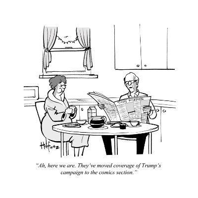 Cartoon-Kaamran Hafeez-Premium Giclee Print
