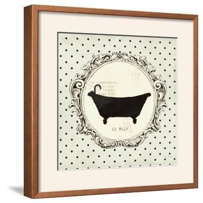 Cartouche Bath-Emily Adams-Framed Photographic Print