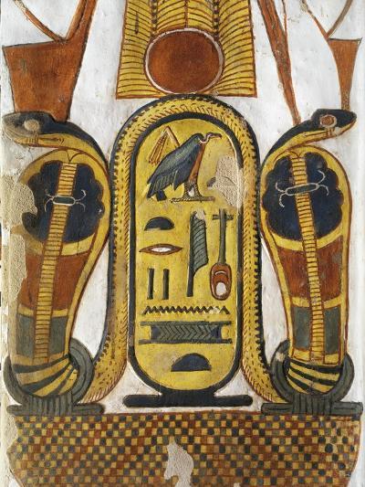Cartouche Encloses Queen Given Name Nefertari Mery-En-Mut--Giclee Print