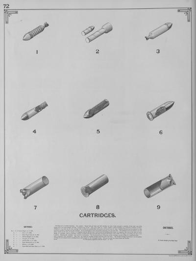Cartridges--Giclee Print