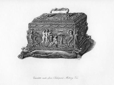 Carved Cassolette Made from the Wood of Shakespeare's Mulberry Tree, C18th Century-CJ Smith-Giclee Print