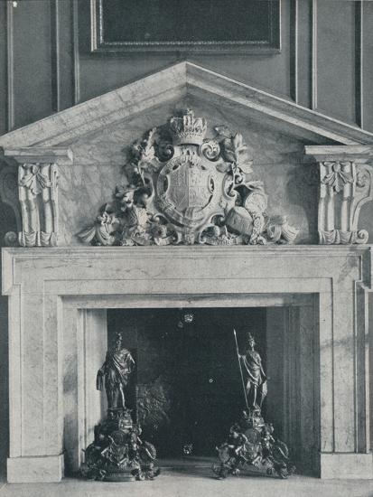 Carved Marble Chimneypiece by William Kent (1685-1748)-Unknown-Photographic Print