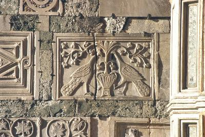 Carved Peacocks, Panel from the Exterior--Photographic Print