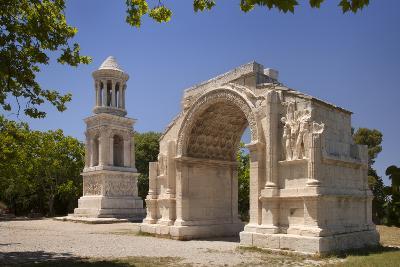 Carved Roman Trophies, Glanum, France.-Brian Jannsen-Photographic Print