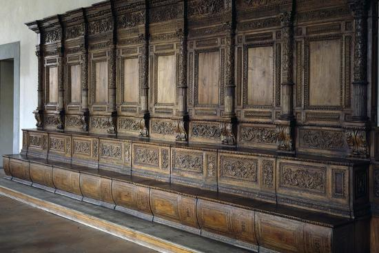 Carved Wooden Stalls, 1534-1535--Giclee Print