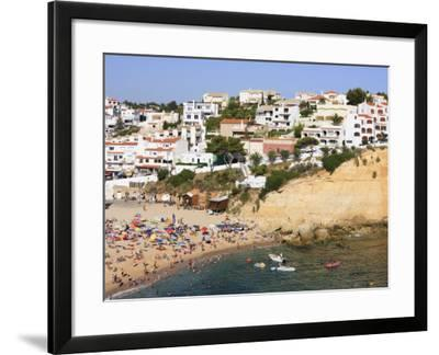 Carvoeiro, Algarve, Portugal, Europe-Amanda Hall-Framed Photographic Print