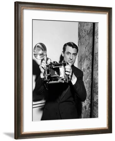 Cary Grant, Crisis, 1950--Framed Photographic Print