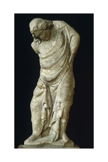 Caryatid as Virtue-Tino di Camaino-Giclee Print