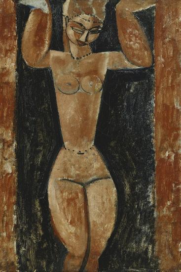 Caryatid; Cariatide, C.1911-1913-Amedeo Modigliani-Giclee Print