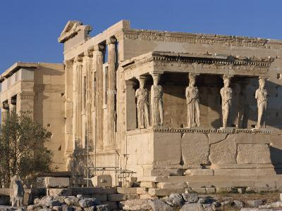 Caryatid Portico, Erechthion, Acropolis, UNESCO World Heritage Site, Athens, Greece, Europe-Thouvenin Guy-Photographic Print