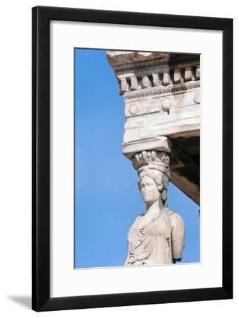 Caryatid--Framed Giclee Print