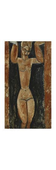 Caryatid-Amedeo Modigliani-Premium Giclee Print