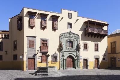 Casa De Colon, Vegueta Old Town, Las Palmas, Gran Canaria, Canary Islands, Spain, Europe-Markus Lange-Photographic Print