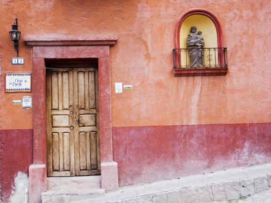 Casa De La Cuesta, San Miguel, Guanajuato State, Mexico-Julie Eggers-Photographic Print