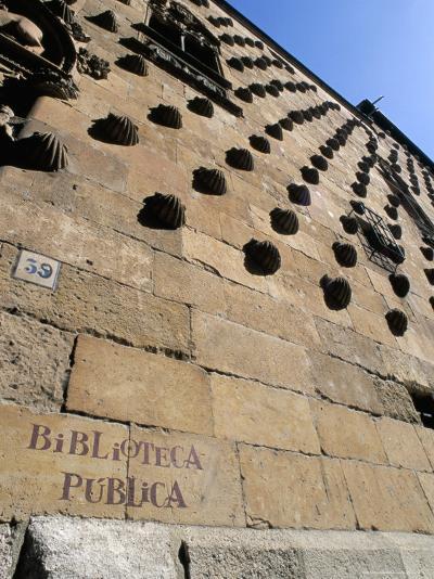 Casa De Las Conchas (House of Shells), Salamanca, Spain-R H Productions-Photographic Print
