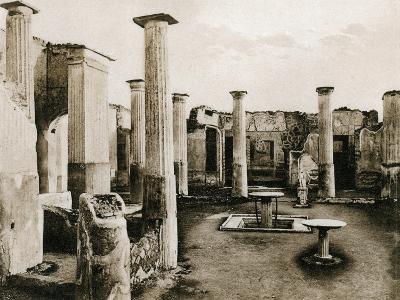 Casa Di Marco Olconio, Pompeii, Italy, C1900s--Giclee Print
