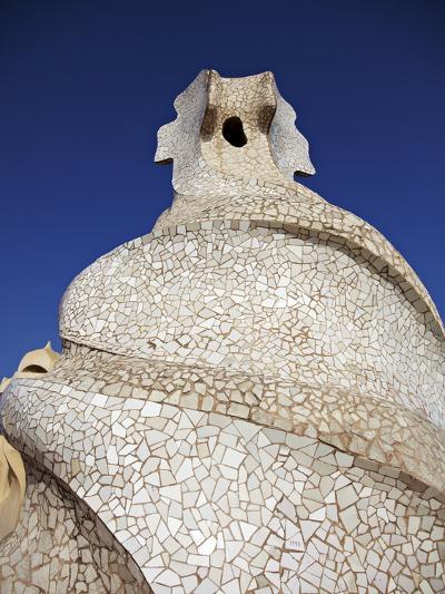 Casa Mila, Barcelona, Catalonia, Spain, Europe-Mark Mawson-Photographic Print