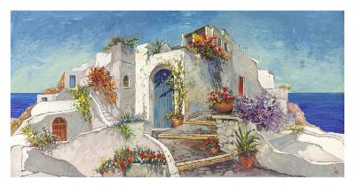 Casa nelle Cicladi-Luigi Florio-Art Print