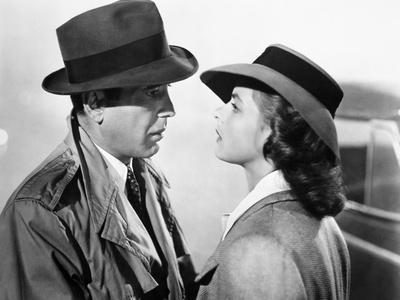 Dead Reckoning Lizabeth Scott and Humphrey Bogart BW Poster
