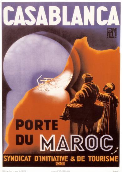 Casablanca--Art Print
