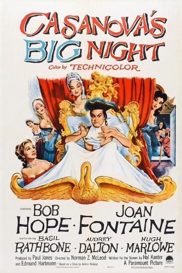 Casanova's Big Night, 1954--Art Print