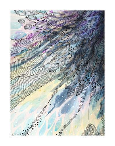 Cascade-Helen Wells-Art Print