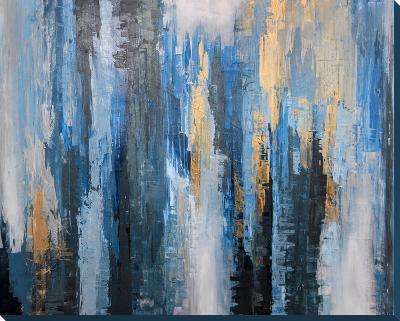 Cascade--Hand Painted Art