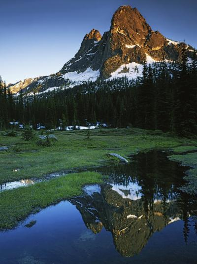 Cascades, Liberty Bell Mountain, Okanogan National Forest, Washington, USA-Charles Gurche-Photographic Print