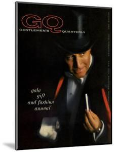GQ Cover - December 1959 by Casele-Chadwick