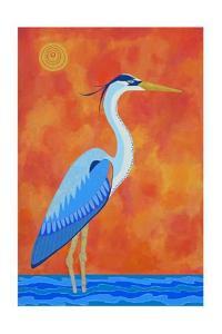 Blue Heron by Casey Craig