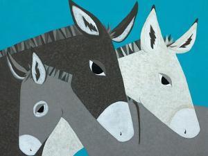 Donkey Family by Casey Craig