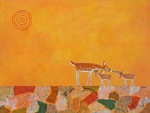 Fawns at Dawn by Casey Craig