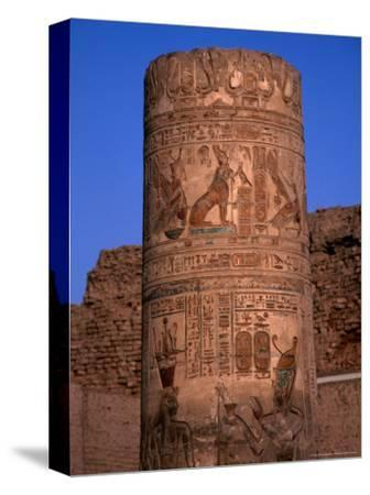 Remains of the Temple of Kom Ombo, Egypt
