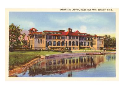 Casino, Belle Isle, Detroit, Michigan--Art Print