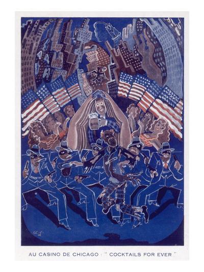 Casino De Chicago 1933--Giclee Print