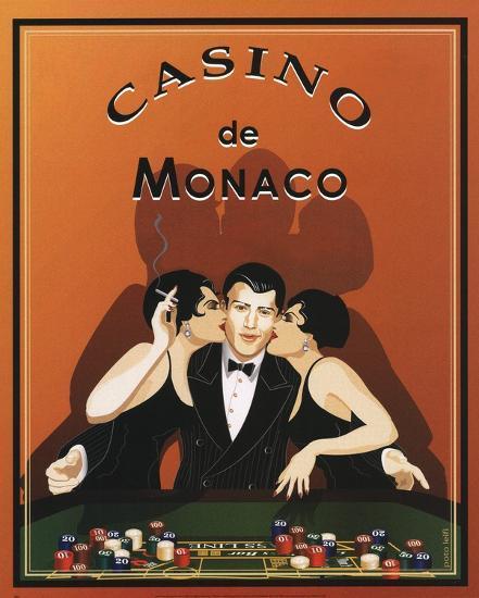 Casino de Monaco-Poto Leifi-Art Print