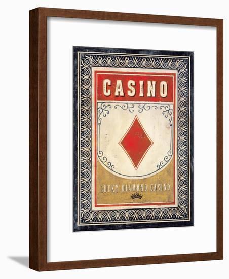Casino Diamond-Angela Staehling-Framed Art Print