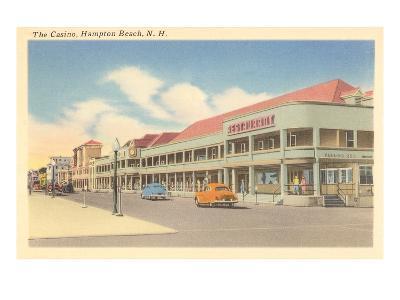 Casino, Hampton Beach, New Hampshire--Art Print