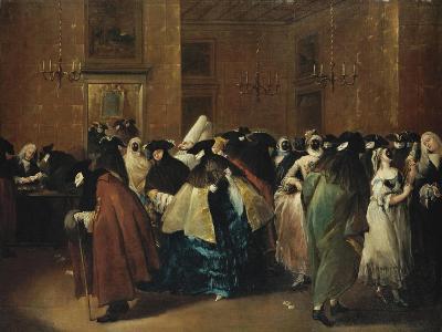 Casino (Il Ridott) in Venice-Francesco Guardi-Giclee Print