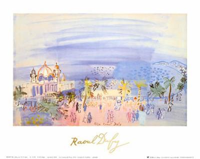 Casino in Nice-Raoul Dufy-Art Print
