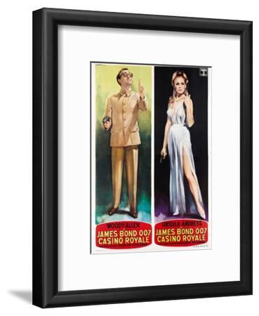 Casino Royale, Woody Allen, Ursula Andress on Italian Poster Art, 1967